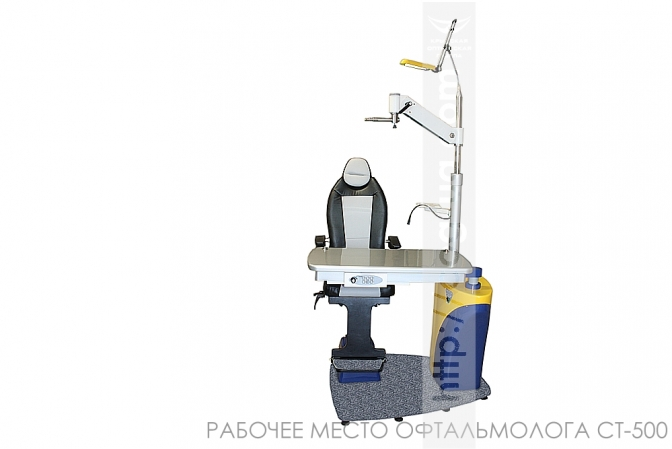 рабочее место офтальмолога на два прибора ct-500
