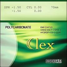 009. Линза 1,59 PC AS HMC EMI WR UV400 Clex