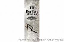 Постер Tom Hart prestigio gothic elements 350x1000